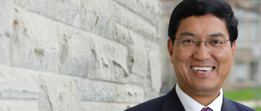 Amit Chakma President and Vice-Chancellor of Western